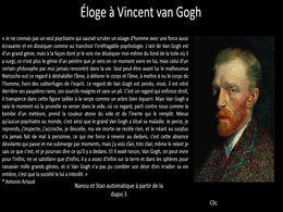 diaporama pps Vincent Van Gogh