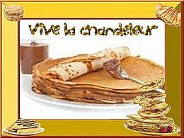 diaporama pps Vive la chandeleur