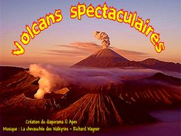 diaporama pps Volcans spectaculaires