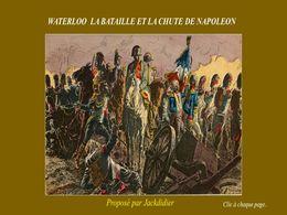 diaporama pps Waterloo la chute de Napoléon