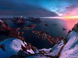 diaporama pps Winter in Lofoten – Norway