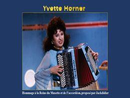 diaporama pps Yvette Horner – Reine du musette