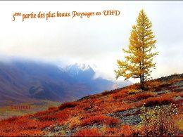 diaporama pps Plus beaux paysages en UHD partie 3