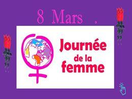 diaporama pps 8 Mars 2020 – Journée de la femme