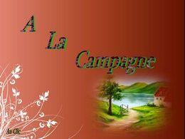 diaporama pps A la campagne