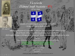 diaporama pps A la recherche d'Edmond Joseph Massicotte