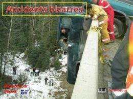 diaporama pps Accidents bizarres