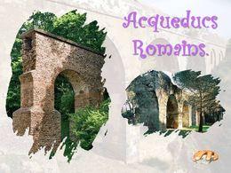 diaporama pps Aqueducs romains