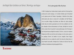 diaporama pps Archipel des Lofoten en hiver