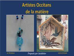 diaporama pps Artistes occitans de la matière