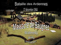 diaporama pps Bataille des Ardennes – Massacre de Baugnez