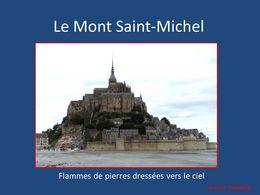 diaporama pps Bretagne le Mont-Saint-Michel