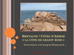 diaporama pps Bretagne Ploumanac'h