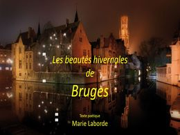 diaporama pps Bruges – Beautés hivernales