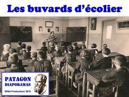 diaporama pps Les buvards d'écoliers