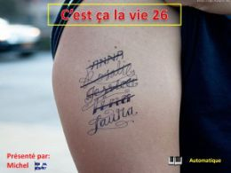 diaporama pps C'est ça la vie 26