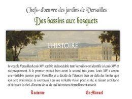 diaporama pps Chefs d'œuvre des jardins de Versailles