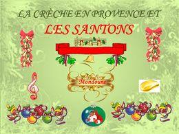 diaporama pps Crèches en Provence et ses santons