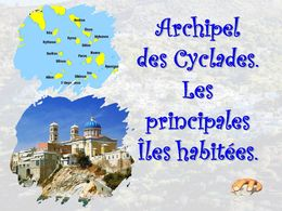 diaporama pps Cyclades – Les îles principales