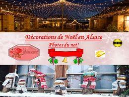 diaporama pps Décorations de Noël en Alsace