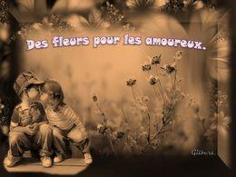 diaporama pps Des fleurs pour les amoureux