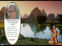 diaporama pps Duong Quoc Dinh peintre et photographe
