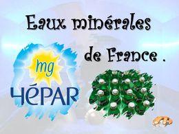 diaporama pps Eaux minérales de France