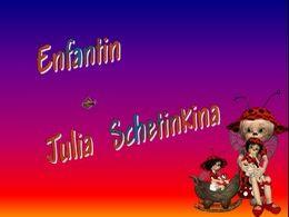 diaporama pps Enfantin Julia Schetinkina