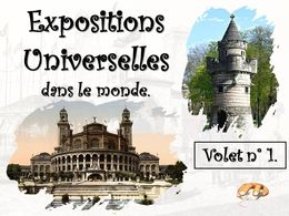 diaporama pps Expositions universelles 1
