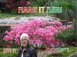 diaporama pps Femmes et fleurs
