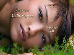 diaporama pps Femmes printanières