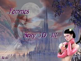 diaporama pps Femmes sexy 3D III