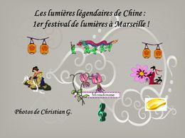 diaporama pps Festival des lanternes à Marseille
