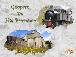 diaporama pps Géoparc de Haute-Provence