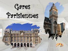 diaporama pps Grandes gares parisiennes