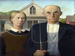diaporama pps Grant Wood