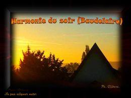 diaporama pps Harmonie du soir – Baudelaire