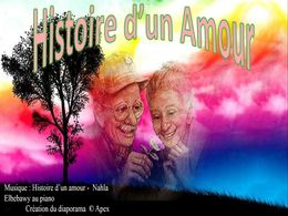 diaporama pps Histoire d'un amour