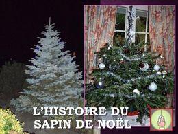 diaporama pps Histoire du sapin de Noël
