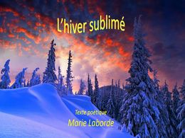 diaporama pps Hiver sublime