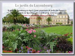 diaporama pps Jardin du Luxembourg