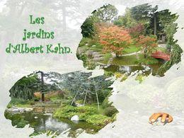 diaporama pps Jardins d'Albert Kahn