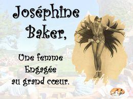 diaporama pps Joséphine Baker