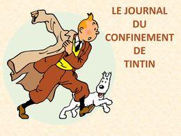 diaporama pps Journal du confinement de Tintin