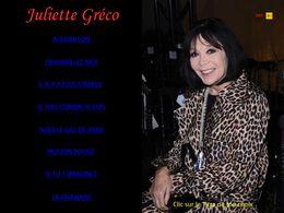 diaporama pps Juliette Gréco