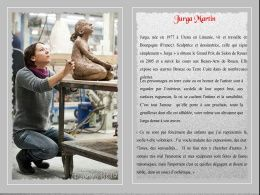 diaporama pps Jurga Martin sculptrice et dessinatrice