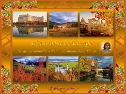 diaporama pps L'automne en Europe