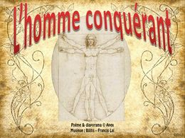 diaporama pps L'homme conquérant