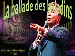 diaporama pps La ballade des baladins