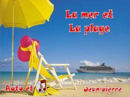 diaporama pps La mer et la plage